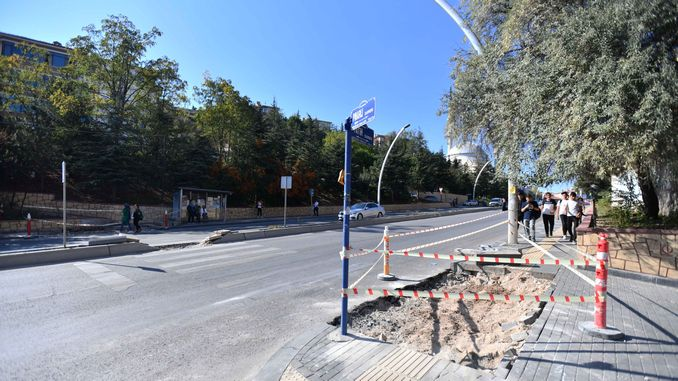 disabled ramps in ankara are made in accordance with world standards
