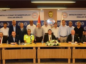 problems of transportation trades in Antalya evaluated