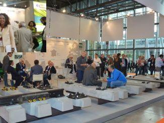 arus feroviara نماینده کشورمان در نمایشگاه سیستم های ریلی بود