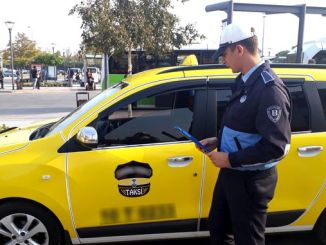 tight inspection of service vehicles and taxis