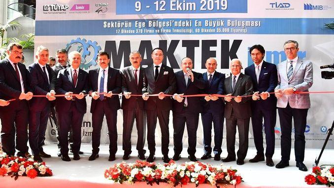 הנשיא Soyer Maktek השתתף ביריד איזמיר