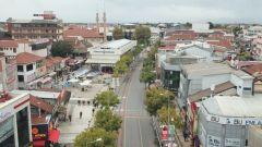 duzce istanbul caddesinde ilk olarak tramvay raylari sokulecek