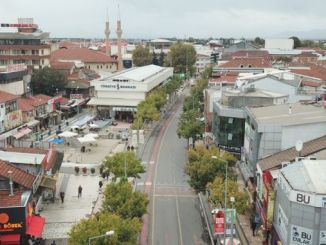 tram rails will be introduced first in duzce istanbul street