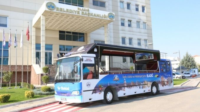 elazig नगरपालिका टूर बस सेवेत