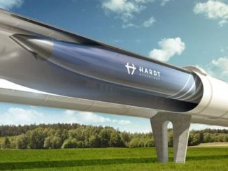 train hyperloop pour être en service par