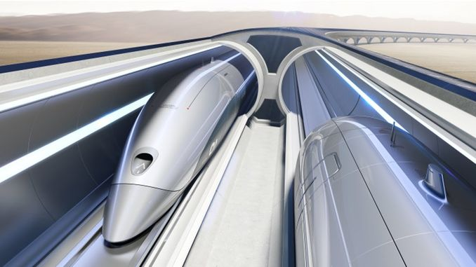 hyperloop train will be in service by