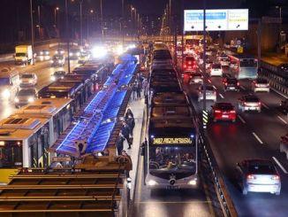 Psikolog lalu lintas lalu lintas metrobus ing istanbul sart