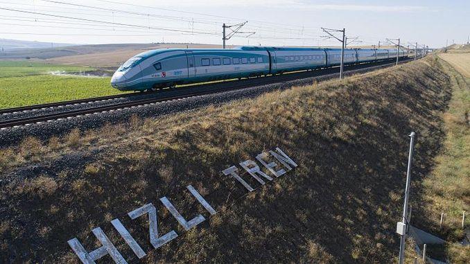 to reach fast train in izmir