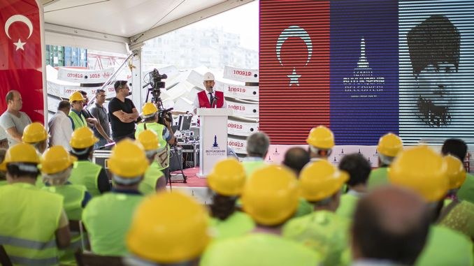 izmir narlidere metro service will be opened at the end