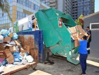 millóns de toneladas de residuos recollidos en municipios de Izmir