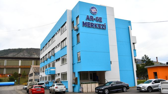 kardemir r & d center registered by the ministry of industry and technology