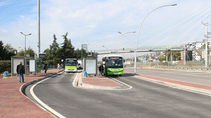kocaelide citizens are satisfied with mobile stops