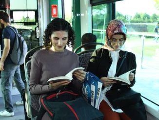 konya buyuksehir電車書的驚喜