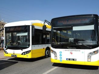 new bus line from konya buyuksehir