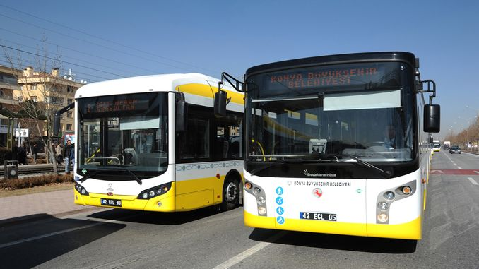 nova autobusna linija iz konya buyuksehir