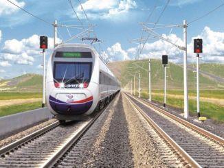 Konya Karaman entre os minutos co tren rápido