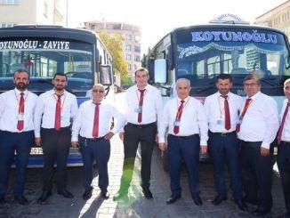 în malatya, a început aplicarea uniformă a microbuzului
