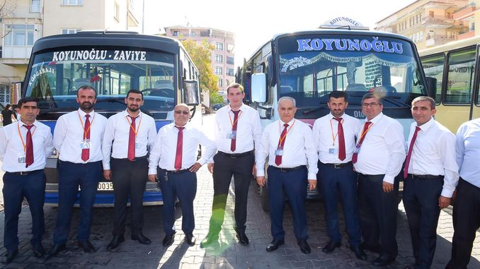 in malatya, uniform application of minibuscuser started
