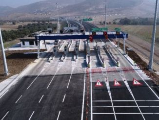 menemen aliaga candarli highway, some sections of the traffic opened