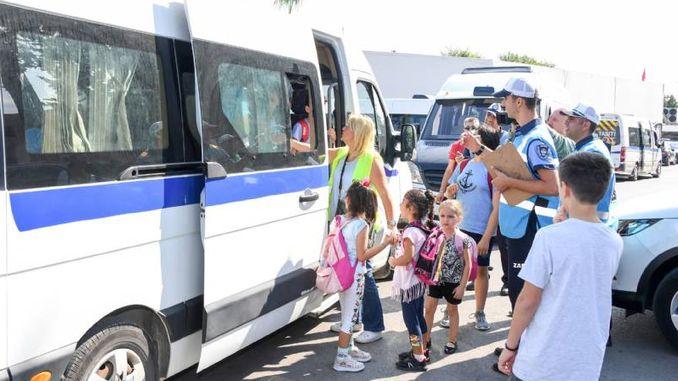 Услуге се континуирано прате ради сигурног и удобног превоза ученика у Мерсину