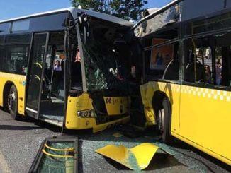 Za'a shigar da tsarin gargaɗin farkon akan motocin don hana haɗarin metrobus