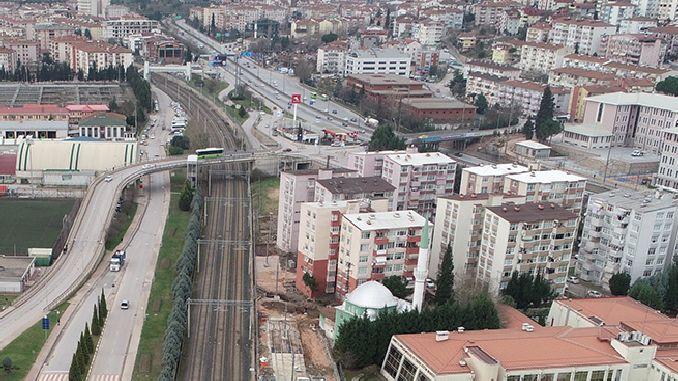 mevlana mostovi raskrižje prometnog rasporeda