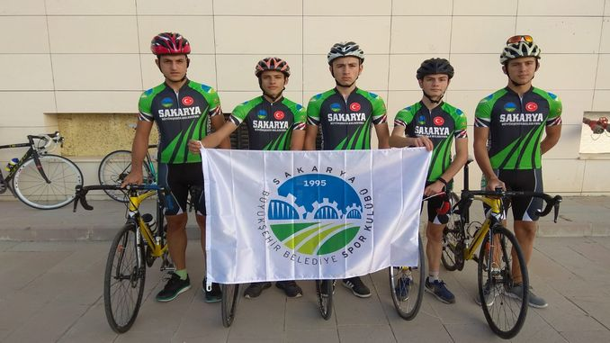 sakarya cycling team races in the first official races
