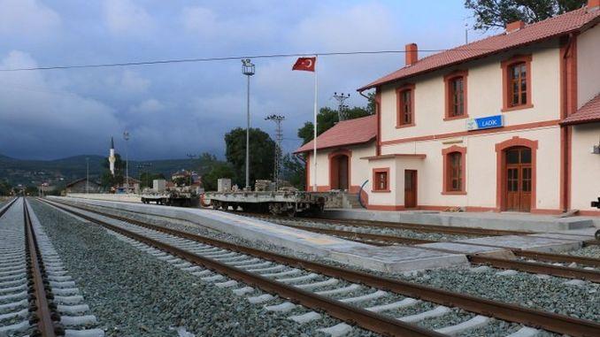 samsun sivas railway line why can't emergency