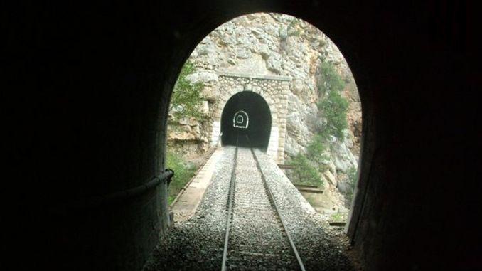 Укрепление тоннеля между новыми станциями Улукисла