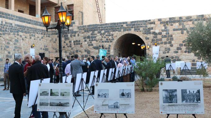historical hejaz railway exhibition in urdunde