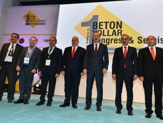 concrete roads congress and exhibition started in ankara