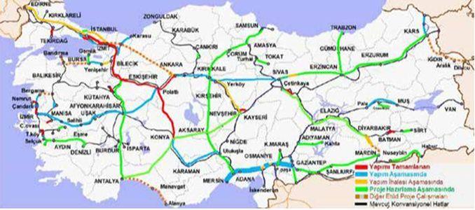 Željeznička linija velike brzine Adana Osmaniye Gaziantep