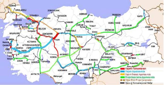 Ankara Razmir High Speed ​​Railway Line
