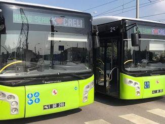 اتوبوس های Mutlu Sehir Kocaeli امضا کرد