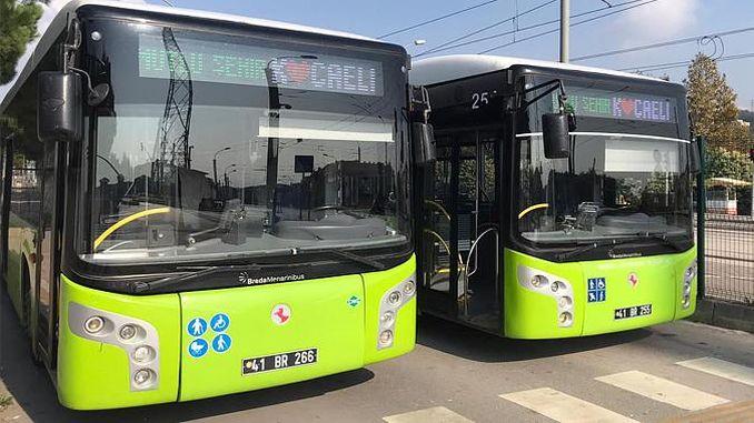 Autobusos signats per Mutlu Sehir Kocaeli