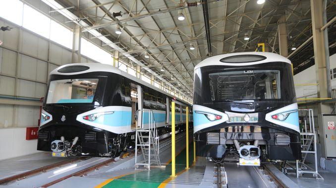 создание завода скоростных поездов Адапазари