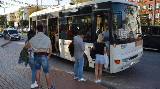 siswa ing lapangan tinimbang bis umum bakal mbayar dhuwit