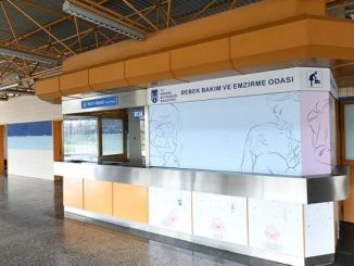 baby care rooms opened in ankara metro stations