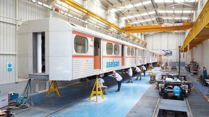 טכנולוגיה אסלסנית מקומית ולאומית ברכבת התחתית אנקרה
