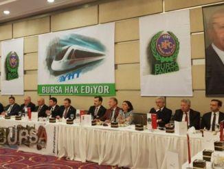 Ankara Bursa verdient schnelle Zugmobilisierung Bursa
