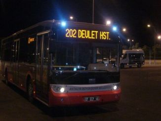 antalya night bus service times rearranged