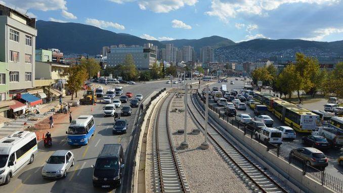 city square terminal tram line