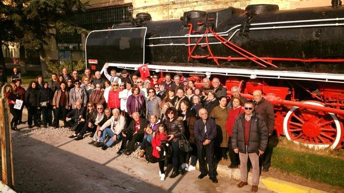 railway children grown up against the beauty of Eskisehir