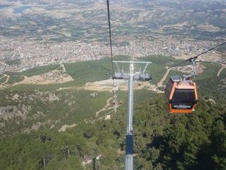 sea ​​bagbasi plateau cable car line was taken care of
