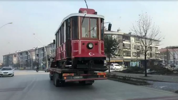 where is the nostalgic tram of the flat