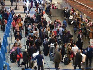lufthavne serveret i oktober