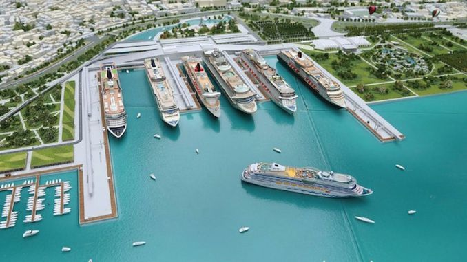 istanbul will be the center of cruise tourism with the giant project