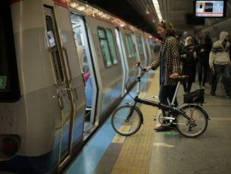 marmaray ak métro bisiklèt nan istanbul