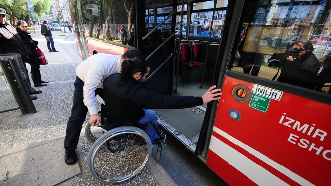 disabled bus travel in Izmir will facilitate