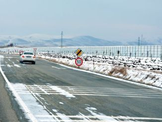snow shield application for highways